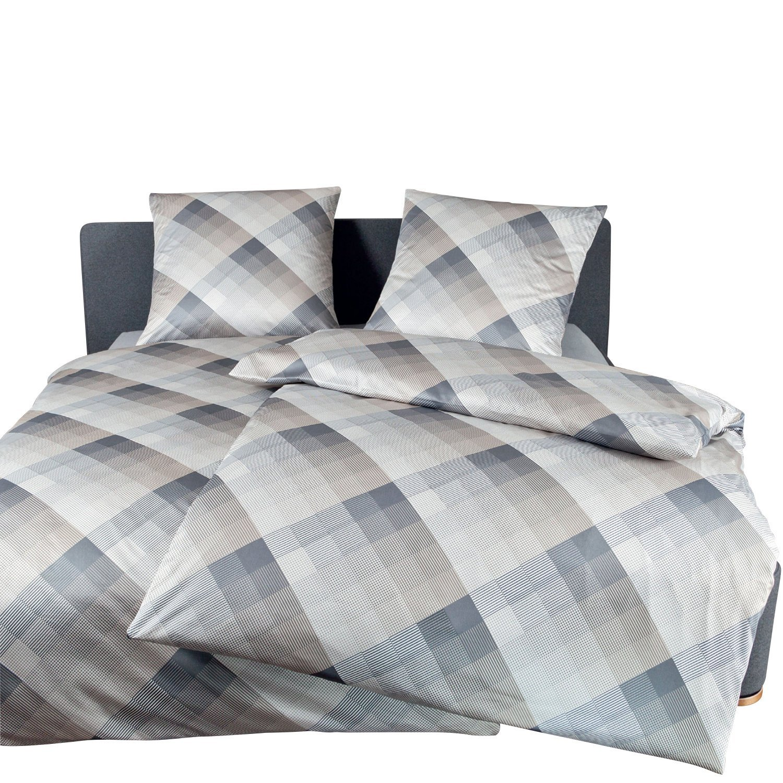 janine design mako satin bettw sche messina 4764 08 135x200 cm 80x80 cm aibv trade gmbh. Black Bedroom Furniture Sets. Home Design Ideas